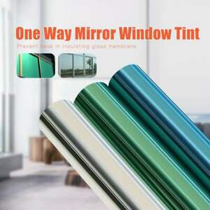 Window Tint Film One Way Mirror For Privacy Car Home Glass Solar Uv Protection