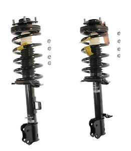 2 Kyb Left Right Front Struts Shocks Coil Springs For Ford For Mazda For Mercury