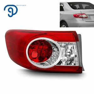 Outer Tail Light Lamp Lh Driver Side For 2011 2012 2013 Toyota Corolla