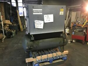 Rotary Screw Air Compressor Atlas Copco Model Ga18