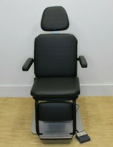 Reliance 5200 Chair black Upholstery Ophthalmic Equipment