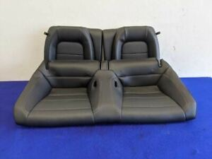 2015 2016 2017 Ford Mustang Gt Ecoboost Rear Premium Leather Back Seat Oem
