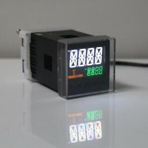 Relay Ssr Output K J Pt100 Pid Thermostat Din Ac 100 240v Temperature Controller