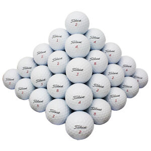48 Titleist Mix Good Quality Used Golf Balls AAA *In a Free Bucket * $35.00
