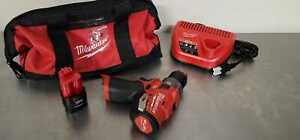 Milwaukee 2504 21 M12 Fuel 12v Brushless 1 2 In Hammer Drill Kit With 2 0 Ah