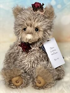 OPERA 11 inch Mohair Isabelle Lee for Charlie Bears A beautiful bear L.E. $215.00