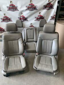 2009 2010 Ford F150 Platinum Front Rear Seats Leather
