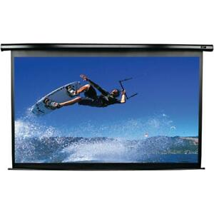 Electric Motorized Projector Screen Foldable Screen Built In Motor Remote Hdtv