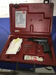 Mac Tools 3 8 Heavy Duty Reversible Air Drill Ad800a With Cases Jl