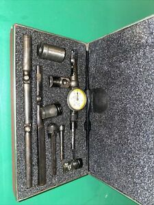 Starrett 711 Last Word Dial Indicator With Case 0005 Machinist Tool Usa Made