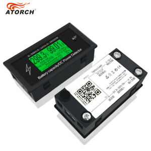New Dc 300v 100a Volt Current Zvs Power Meter Detector Discharge Battery Monitor