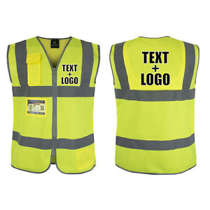 Safety Vest Custom Hi vis Personalized Free Shipping Fast Delivery