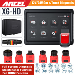 Heavy Duty Diesel Universal Truck Scanner Diagnostic Tool Obd2 Hd Code Reader