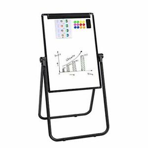 Dry Erase Board 24x36 Magnetic Whiteboard Easel With U Stand Double Sided Whi