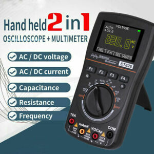 Newest 2in 1 Color Intelligent Graphical Digital Oscilloscope Multimeter Tester
