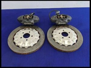 2015 2020 Ford Mustang Shelby Gt350 Rear Brembo Brake Caliper Rotor Set Oem