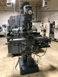 Bridgeport Manual Mill Serial 154952 With Digital Read Out