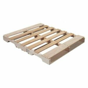 Partners Brand Cpw4840rh Heat Treated Pallet 48x40 natural Wood pk10