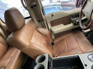 Full Set Of Seats Brown Leather Front Back Fits 04 08 Ford F150 Pickup 993777