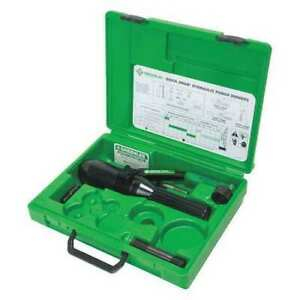 Greenlee 52084916 Quick Draw Hydraulic Punch Driver Kit