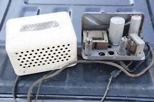 Vintage Motorola Deluxe Radio Speaker Tube Amplifier Unit Model P 62 Car Truck