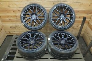 Forged 360 Mesh Wheel Rim Front 20x9 Rear 20x105 5x112 Fits Variety 1 Bent