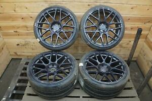 Forged 360 Mesh Wheel Rim Front 20x9 Rear 20x10 5 5x112 Fits Variety 1 Bent