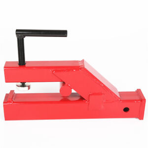 Upgraded Clamp On Trailer Hitch Ball Mount Receiver For Bobcat Tractor Bucket
