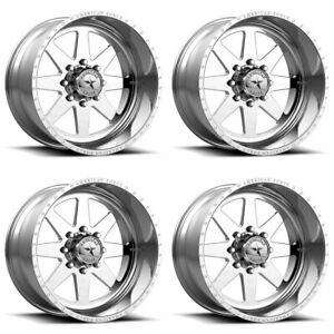 4 American Force 22x10 Afw 11 Independence Ss Wheels Polished 6x5 5 139 7 25mm