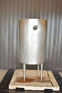 80 Gallon 304 Stainless Steel Jacketed Tank