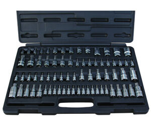 Atd Tools 13772 Master Star Bit Socket Set 72 Pc