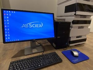 Ab Sciex Mass Spec Data Acquisition Software And Dell Pc Tower