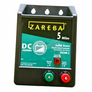 Edc5m z 5 mile Battery Operated Solid State Electric Fence Charger 1
