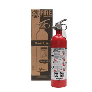 5 b c Rated Disposable Fire Extinguisher