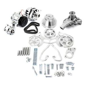 For Chevy Camaro 67 97 Pce Serpentine Complete Engine Pulley Components Kit