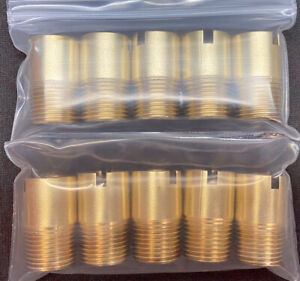 Slot Cut Engine Shop Special 10pk Brass Ford Fe 390 427 428 Water Bypass Fitting