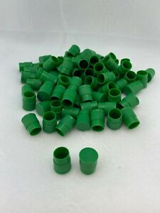 Test Tube Cap Lid 14mm Green 700 Pieces
