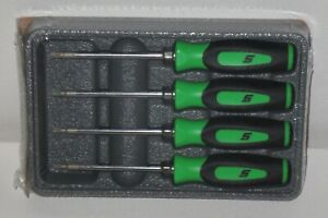 New Snap on Torx Set Sgtx40bg green Soft Handles Mini Torx Brand New Sealed