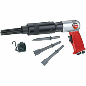 Clarke X Pro Cat164 Air Needle Scaler Hammer Chisel 3 Chisels 4500 Blows Pm