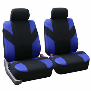 Bucket Seat Covers Set For Auto Suv Truck Van Blue