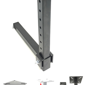 Maxxhaul 80356 Hitch Mount Vise Plate Holder With Adjustable Height