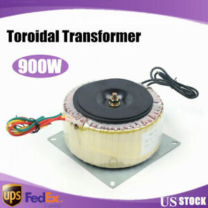 Us Toroidal Power Transformer Input Voltage Ac110v ac220v Output Ac60v