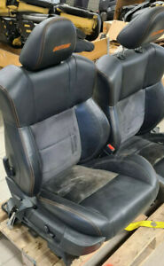 Dodge Charger Daytona 2006 10 Black Leather Lh Rh Front Rear Seats Seat Set