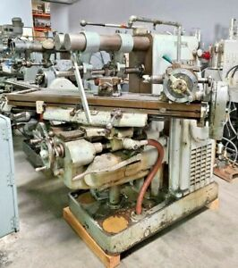 Kearney Trecker Milwaukee Model K Horizontal Mill Milling Machine Dividing Head