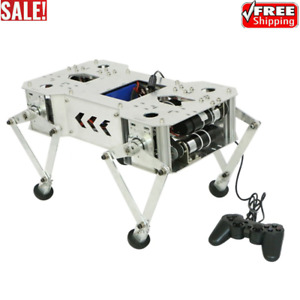 Quadruped Robot Remote Control Beedog Programmable Crawling Robot W Gear Motor