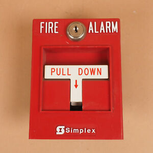 Simplex 2099 9754 Single Action Fire Alarm Pull Station Quantity Available