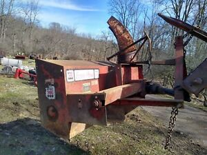Econo Plow 6 6 Three Point Mounted Snow Blower For Compact Tractors 540 Pto