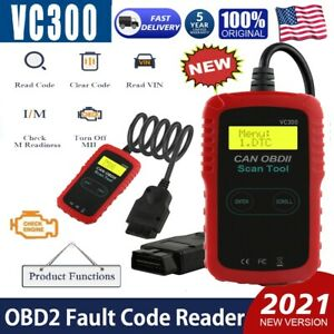 Vc300 Car Obd2 Fault Code Reader Obd2 Car Engine Scanner Diagnostic Reset Tool