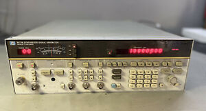 Hp 8673b Synthesized Rf Signal Generator Sweeper 2 26 5 Ghz For Repair