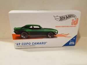 Hot Wheels Id 69 Copo Camaro 2020 Factory Fresh Series 2 Limited Production